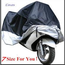 7 размер мотоциклов обложка, водонепроницаемый открытый уф протектор покрытие велосипед, чехлы для мотоцикл мотороллер, капа пункт Moto G