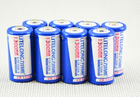 20pcs/lot LITELONG CR123A rechargeable lithium battery 3V lithium camera battery 16340 1300mah batteries<br><br>Aliexpress