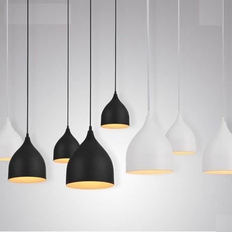 Nordic Loft Style Iron Droplight Modern LED Pendant Light Fixtures Living Dining Room Hanging Lamp Indoor Lighting Lampara - JIAMEI LIGHTING store