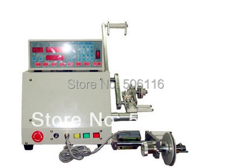 Free ship Computer CNC Automatic Coil Winder Winding Machine for 0.03-1.2mm wire(China (Mainland))