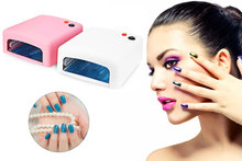 1 PCS Small And Cool Design Suitable For Hands And Feet 36W UV Lamp 220V EU Plug Lamp Gel Nail Dryer Curing Light Nail Art Tools(China (Mainland))
