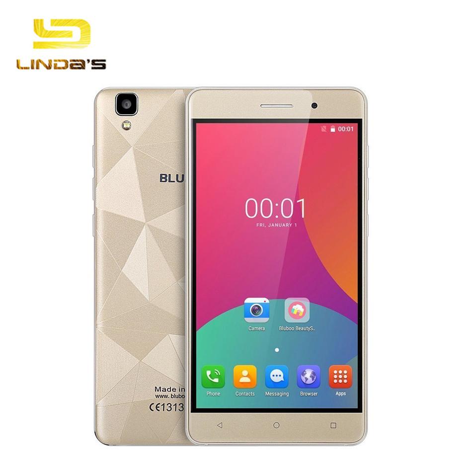 "Original Bluboo Maya 5.5""HD 1280*720 3G Smartphone Android 6.0 MTK6580A Quad-Core 1.3GHz 2GB+16GB 8.0MP+13.0MP 3000mAh Cellphone"