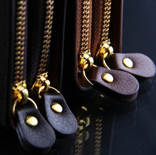 M03 brand handbag genuine leather purse men the fashion clutch men s wallets black coffee colour