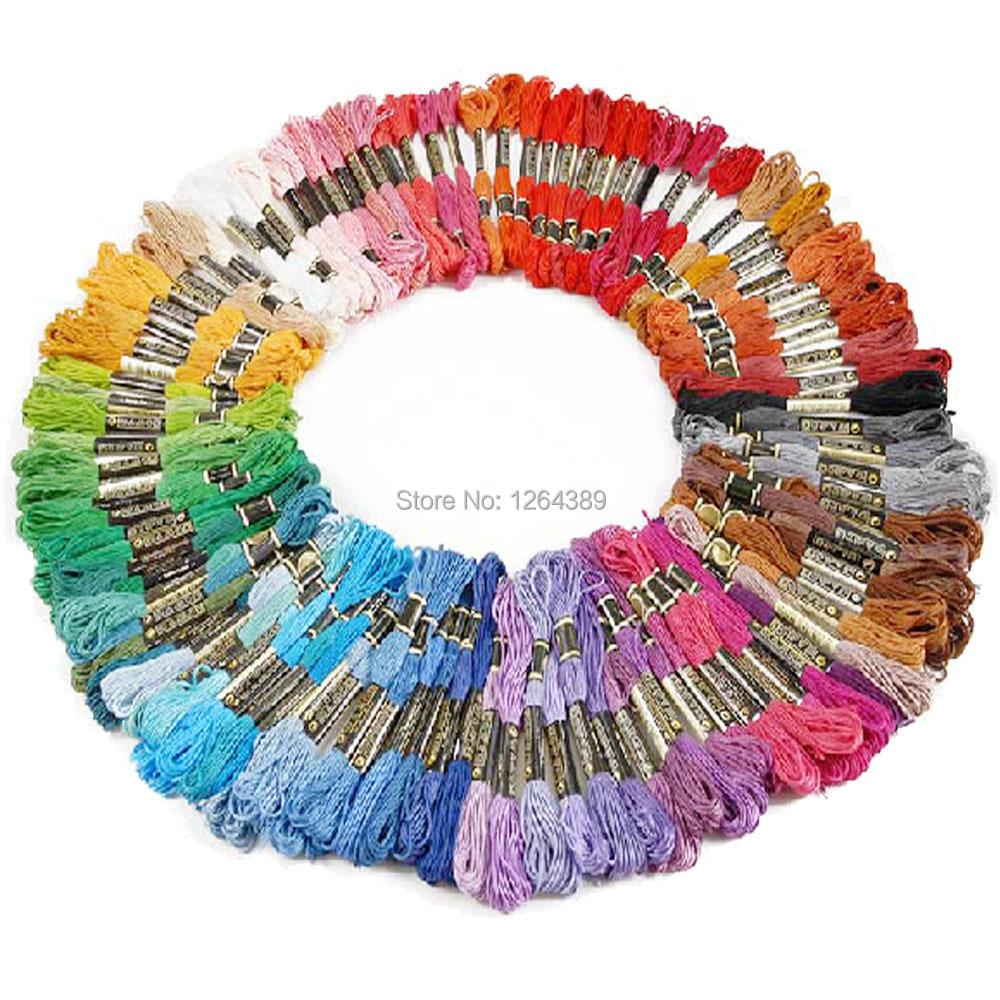 Embroidery floss vs crochet thread makaroka