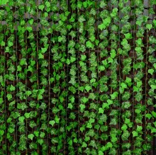 Boston ivy Green Vine Leaf Garland
