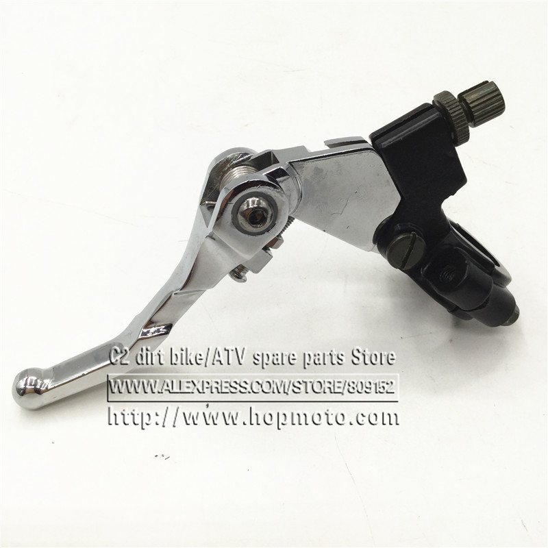 Clutch Lever with Perch-1PC 22mm 7//8in Handlebar Folding Clutch Lever with Perch for 50CC 125CC Dirt Pit Bike