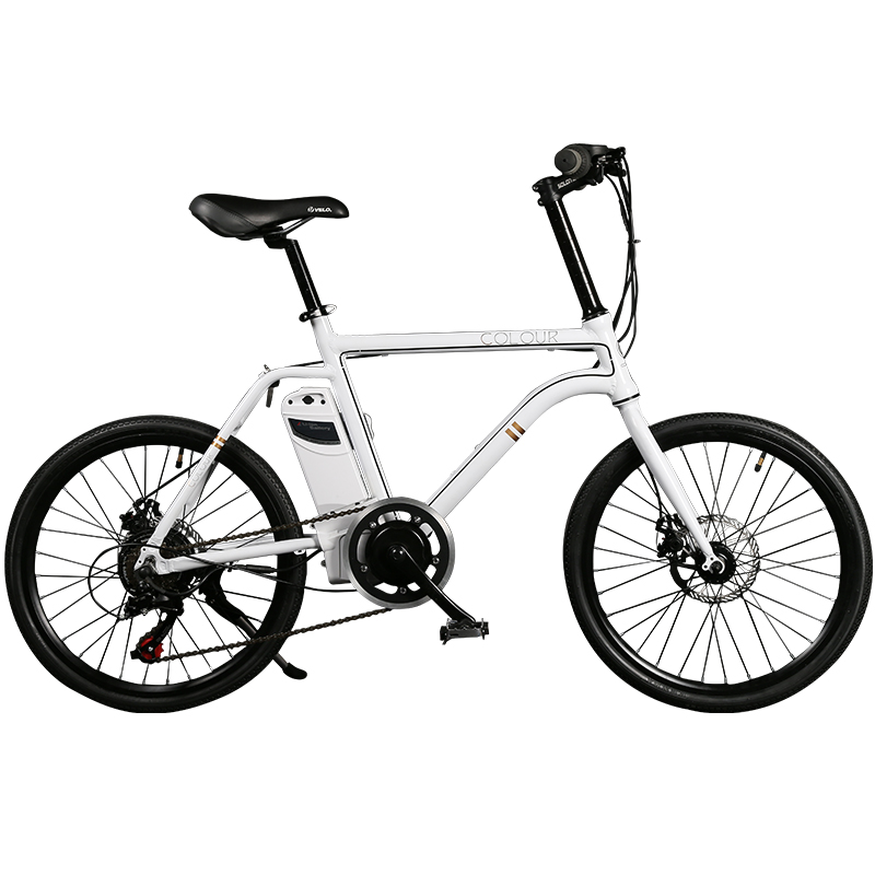 "20"" 24V/8AH 6 Speed Portable Electric Bicycle, Lightweight Mini E Bike, Intelligent Torque Sensor, Lithium Battery Removable(China (Mainland))"