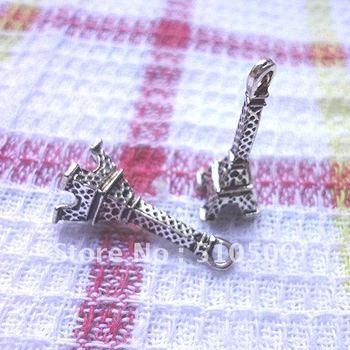 Wholesale - Tibetan silver charm Antique silver pendant the 50PCS zinc alloy jewelry accessories fashion DIY jewelry pendants