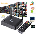 image for Free Shipping Quad Core CPU Set Top Box Android 4.4.2 ROM 8GB XBMC Sma