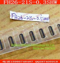 20 шт. / lot HRS Hirose коннектор FFC / гибкая печатная плата разъемы 0.3 мм FH26-21S-0.3SHW FH26-21S 21PIN