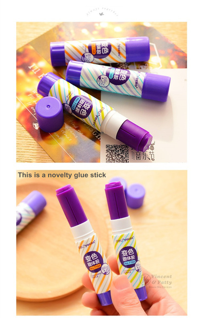 Purple Glue Stick Set (24 pcs/Set)