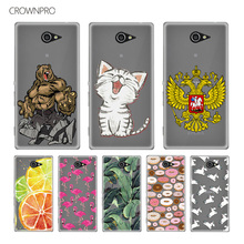 Buy CROWNPRO Soft Silicone TPU Case FOR Sony Xperia M2 S50h Dual D2302 D2303 Cover Case Back FOR Sony Xperia M2 Mobile Phone Case for $1.21 in AliExpress store