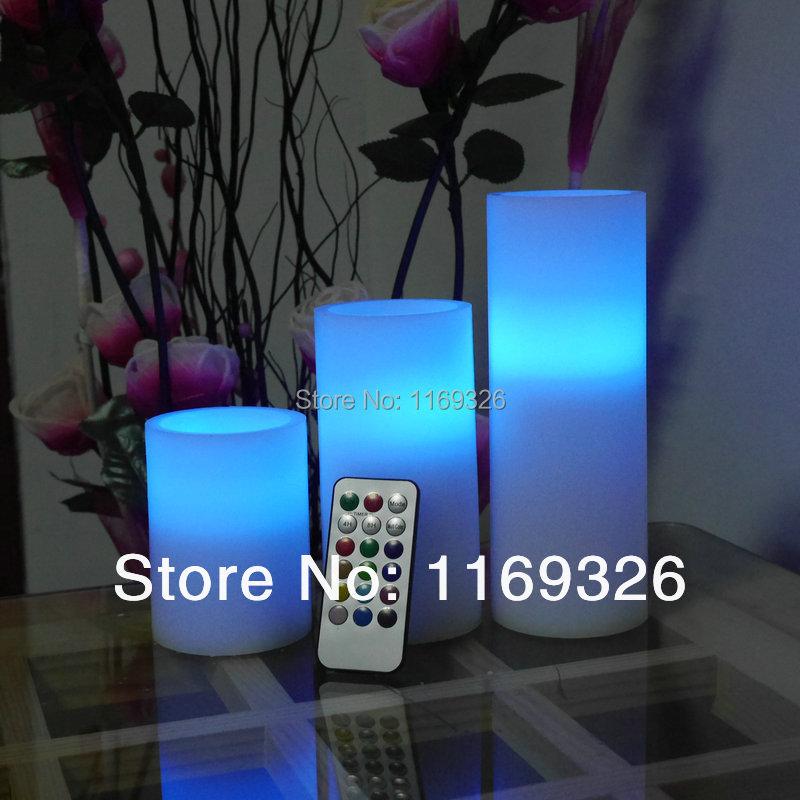Aliexpress.com : Buy Hot Sales Wax pillar LED candles home decor ...