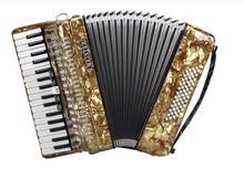 Musical Instrument J.MEISTER 34 keys 60 bass MVB1308B Germany import reed professional accordion for adolescent adult beginners(China (Mainland))