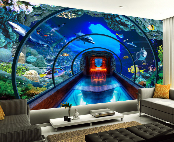 Aquarium Themed Bedroom For The Home On Pinterest Garage
