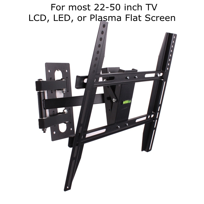 Articulating TV Wall Mount Bracket LCD LED TV Stand Swivel Tilt Arm For 32 36 40 42 46 48 50 Inch(China (Mainland))