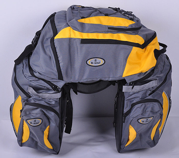 Free shipping Removable triad big bike bag 68 litres of large capacity after the bicycle bag carry bag