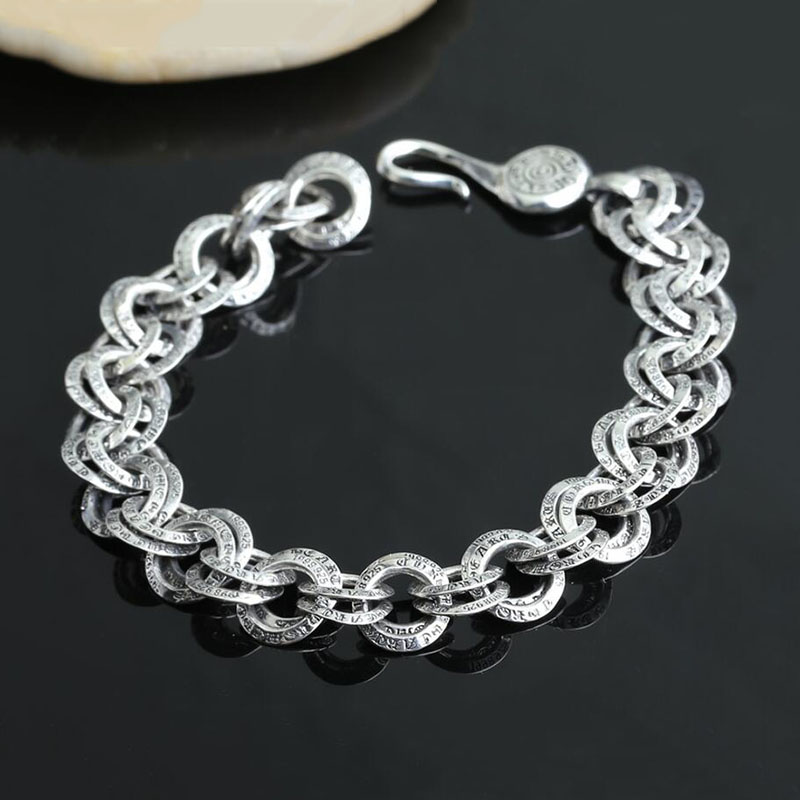 2016 classic 100 real 925 sterling silver bracelet bangle