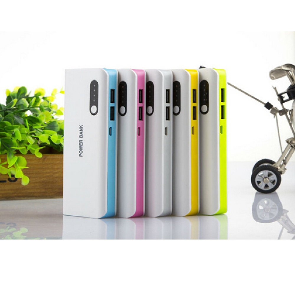 13000mAh Power Bank External Battery Backup mobile Charger (Dual USB Outputs, High Capacity and LED Lamp)(China (Mainland))