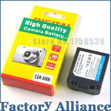1500mAh CGA-S006 CGR CGA S006E S006 S006A DMW-BMA7 DMW BMA7 Battery for Panasonic DMC FZ7 FZ8 FZ18 FZ28 FZ30 FZ35 FZ38 FZ50