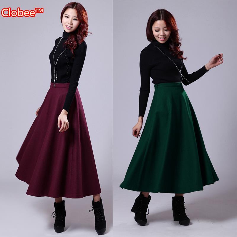 Online Buy Wholesale full skirt winter from China full skirt ...