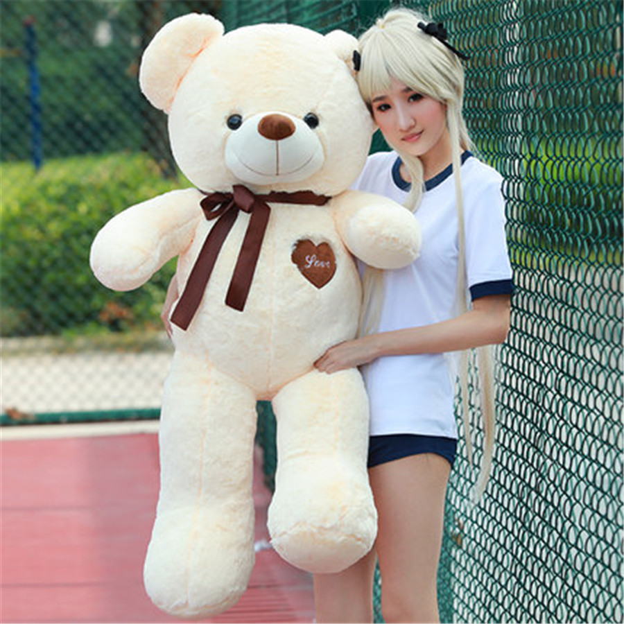 Stuffed Plush Animals For Girls Giant Teddy Bear Plush Nano Doll Birthday Gifts Christmas Oyuncak Nemo Moomin Toy Cotton 80A0589(China (Mainland))