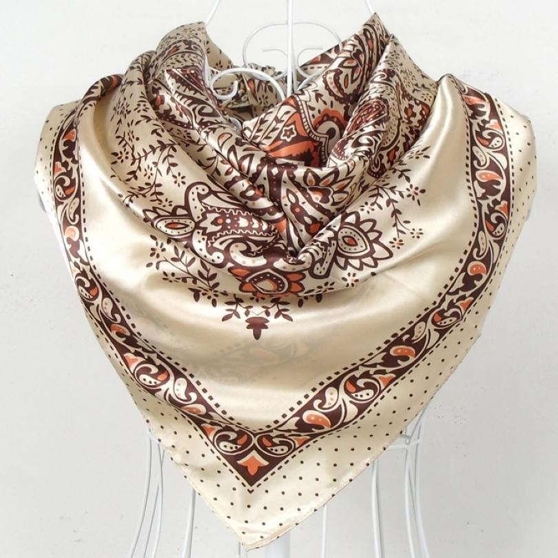 aliexpress buy beige yellow silk scarf 2015 new