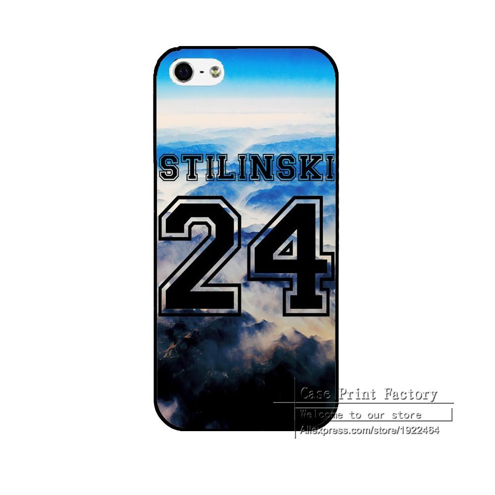 Teen Wolf Stilinski 24 Cover Case For iPhone 6 6S 6Plus 6Splus 5 5s 5c 4 4s Brand Hard Cases Plastic Shell