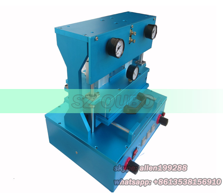 OCA vacuum laminating machine ,for broken iphone 4s 5s 5c screen replacement ,for samsung note 4 broken lcd digitizer refurbish(China (Mainland))