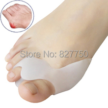 Genuine new special hallux valgus bicyclic thumb orthopedic braces to correct daily silicone toe big bone