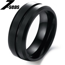 Best selling personalized black color finger jewelry vintage tungsten steel male ring n227(China (Mainland))
