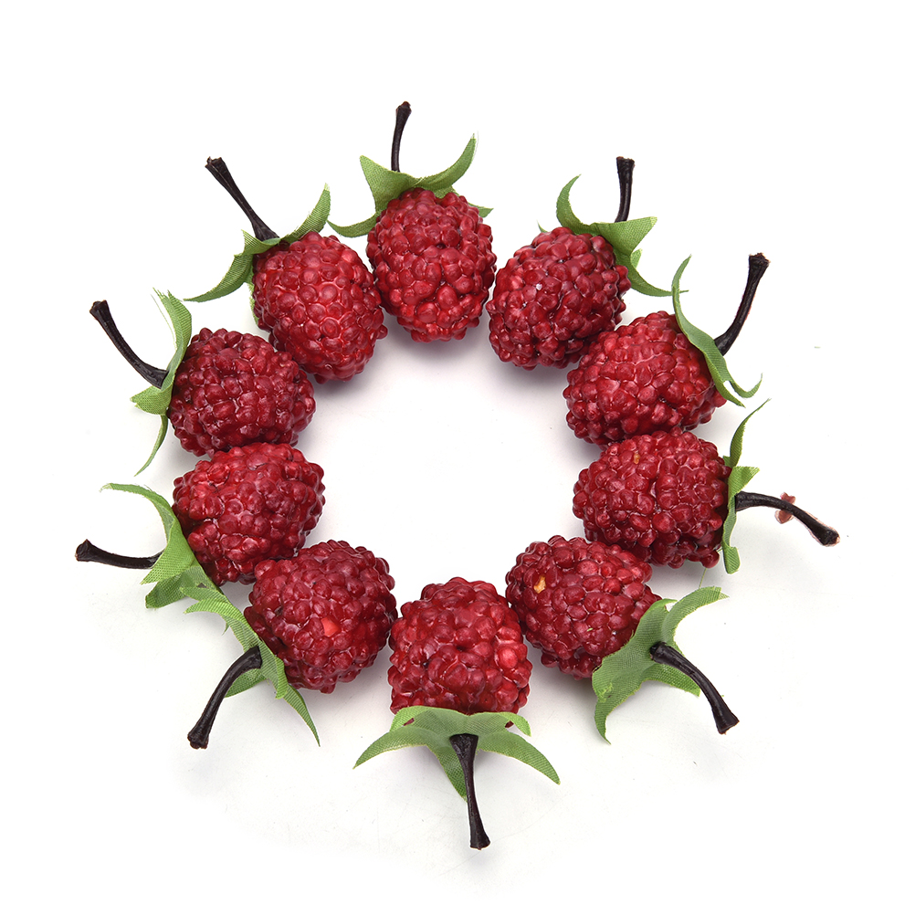Artificial strawberry plants promotion shop for for Artificial cherries decoration
