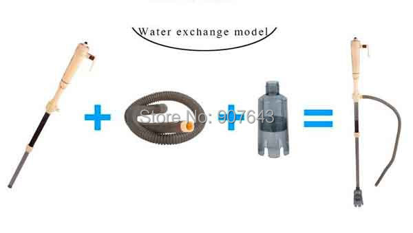 New Updated Aquarium Water Filter Cleaner Change Battery electric Syphon,Auto Home Vacuum Fish Tank Gravel pumping Filter Washer