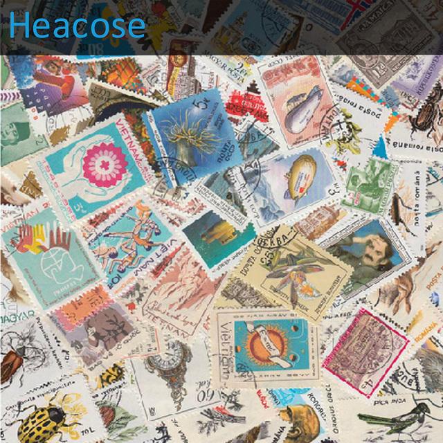 Почтовая марка 1000 шт./лот, Не повторять, С почтовым штемпелем, Европа почтовых марок, Коллекции марок