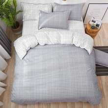 New Room decoration Bedding Set Christmas gifts duvet cover + flat sheet + pillowcase 3/ 4pcs(China)