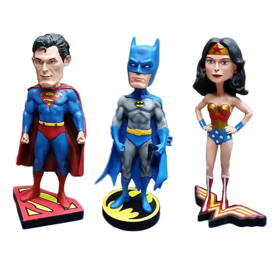 Batman 25cm 1pcs PVC Action Figure Batman Wonder Woman Superman DC Comics Justice League Anime Models Kids Gifts Toys 1178<br><br>Aliexpress