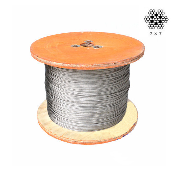 30metres 7x19 (1.5mm) Stainless Steel Cable Wire Rope Free Shipping(China (Mainland))