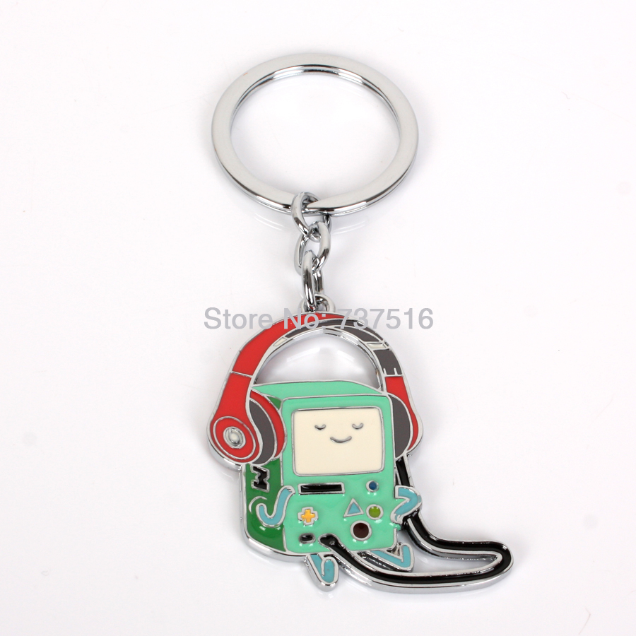 New arrived Rare From Adventure Time Bmo Beemo Movies Animation around Cool Metal Products(China (Mainland))