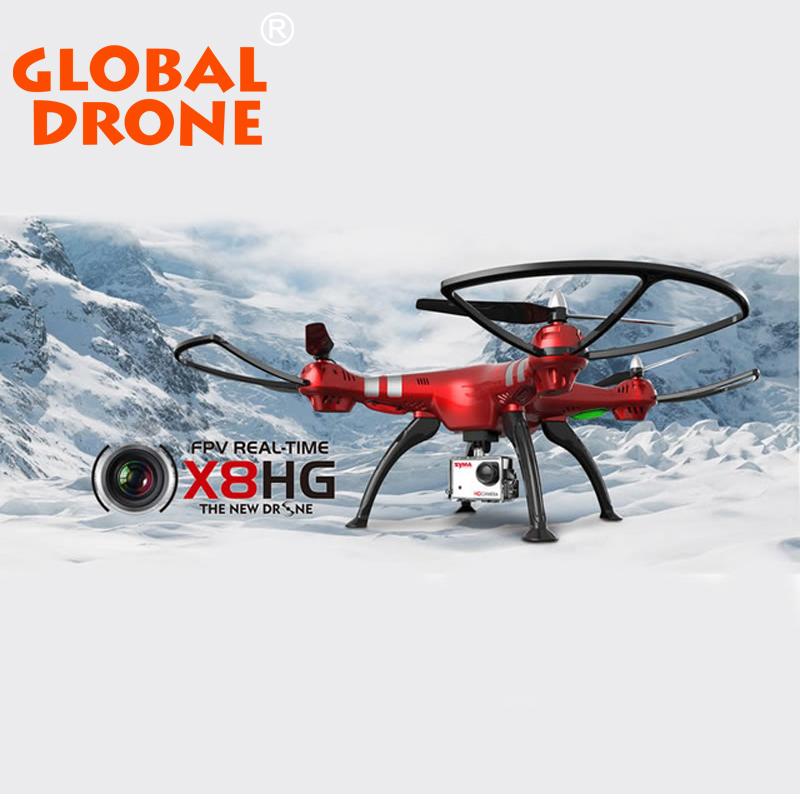 New Arrival Syma X8HG 2 4G 6 Axis Gyro RC Quadcopter Wifi FPV HD Camera Quad