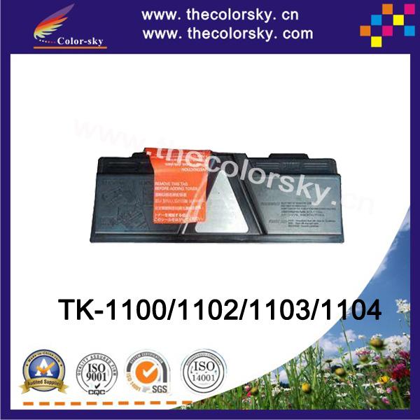 (CS-TK1100) BK compatible toner printer cartridge for Kyocera TK1100 TK1102 TK1103 TK1104 FS1110 FS1024 FS1124 (2.1k pages)<br><br>Aliexpress