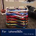 Bumper on For iPhone 5s case Luxury Aluminum Bumper to 5s lumee case for iphone 5s