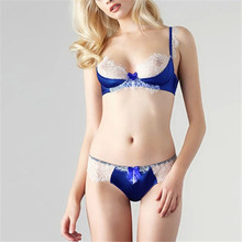 Hot Styles Sexy Push-Up Padded Bra Sets Women Underwear Underwire Lace Lingerie Outfits 32-36B