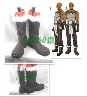 Sword Art Online Agil Andrew Gilbert Mills Shoes Costume Boots Cosplay Men Shoes SAO Custom Made