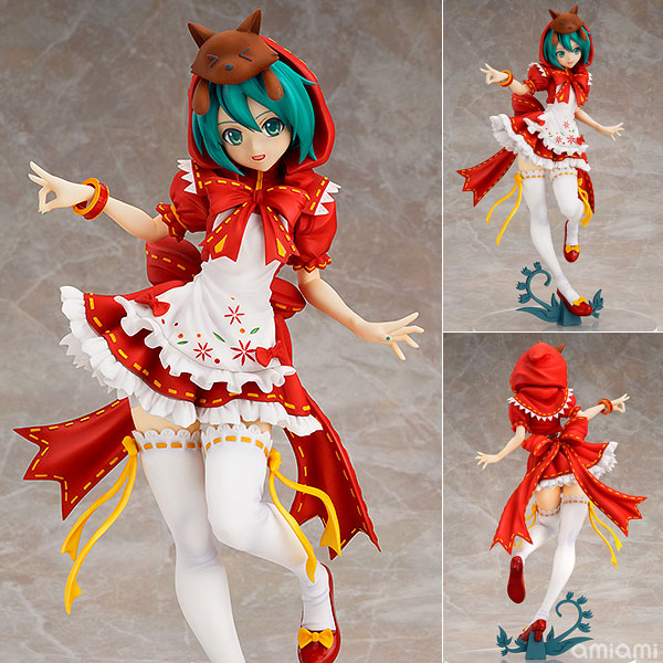 Anime Hatsune Miku Red Riding Hood Project DIVA 2nd PVC Action Figure Collectible Model Toy 25cm CVFG114