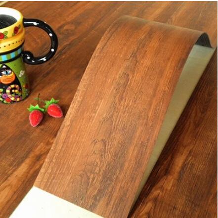 Autoadesivo tile piano DO-IT-YOURSELF fai da te finitura in legno pavimenti in vinile piastrelle senza bisogno di colla di plastica tavole impermeabile pavimenti in pvc(China (Mainland))