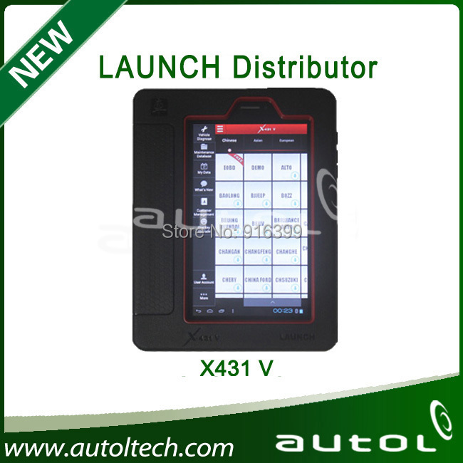 Update via Launch Official Website buy launch x431 V with good price-----100% Original(China (Mainland))