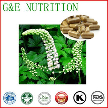 500mg x 500pcs Black Cohosh Capsule with free shipping(China (Mainland))