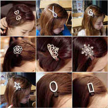 Joyme brand mix designs fashion women hair jewelry CZ Rhinestone  Hairpins Hair Pins new Wedding Head wear