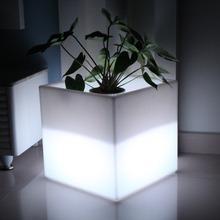 iluminated LED ice bucket LED Flower Vase free shipping 1pc drop shipping
