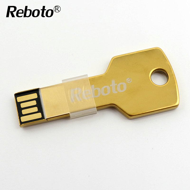 Newest Mini metal Aluminium key shape USB flash drive 4GB 8GB 16GB 32GB 64GB usb memory stick Pendrive Flash Drive(China (Mainland))